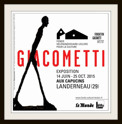 AFFICHE EXPOSITION GIACOMETTI